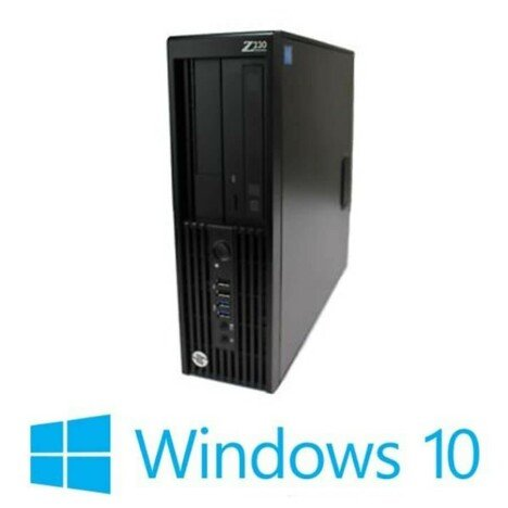 PC Refurbished HP Z230 SFF, Quad Core E3-1225 v3, Win 10 Home